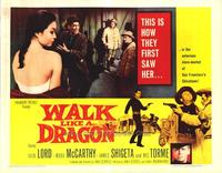 Walk Like a Dragon - 22 x 28 Movie Poster - Half Sheet Style A