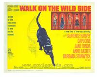 Walk on the Wild Side - 22 x 28 Movie Poster - Half Sheet Style A
