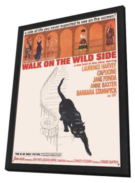 Walk on the Wild Side - 11 x 17 Movie Poster - Style A - in Deluxe Wood Frame