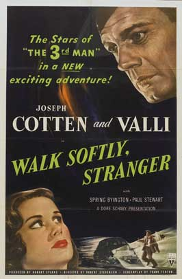 Walk Softly, Stranger - 27 x 40 Movie Poster - Style A