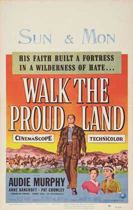 Walk the Proud Land - 11 x 17 Movie Poster - Style B