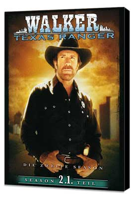 Walker, Texas Ranger - 27 x 40 TV Poster - Germany Style A - Museum Wrapped Canvas