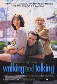 Walking and Talking - 27 x 40 Movie Poster - Style A
