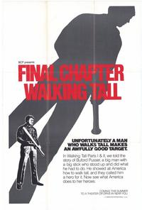 Walking Tall: The Final Chapter - 27 x 40 Movie Poster - Style B