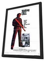 Walking Tall - 11 x 17 Movie Poster - Style C - in Deluxe Wood Frame