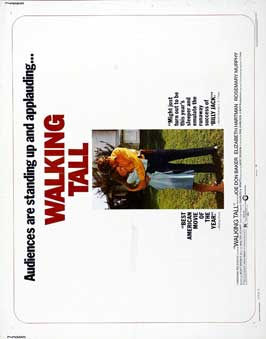 Walking Tall - 22 x 28 Movie Poster - Half Sheet Style A