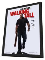 Walking Tall - 27 x 40 Movie Poster - Style A - in Deluxe Wood Frame