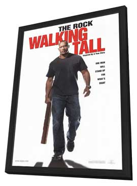Walking Tall - 11 x 17 Movie Poster - Style A - in Deluxe Wood Frame