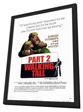 Walking Tall: Part 2 - 11 x 17 Movie Poster - Style A - in Deluxe Wood Frame