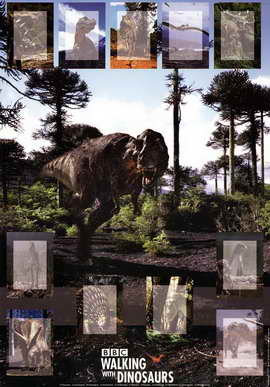 Walking With Dinosaurs - 11 x 17 Movie Poster - Style B