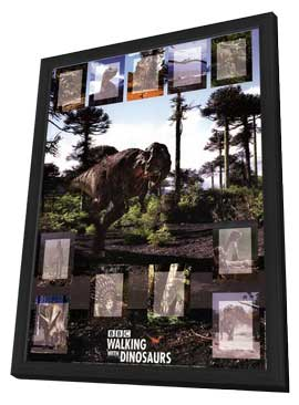 Walking With Dinosaurs - 27 x 40 Movie Poster - Style B - in Deluxe Wood Frame