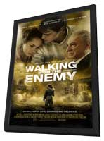 Walking with the Enemy - 27 x 40 Movie Poster - Style B - in Deluxe Wood Frame