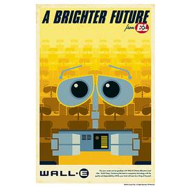 Wall-E - A Brighter Future Paper Giclee Print