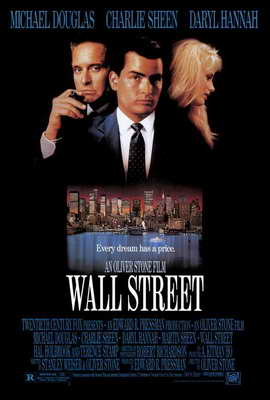 Wall Street - 27 x 40 Movie Poster - Style A