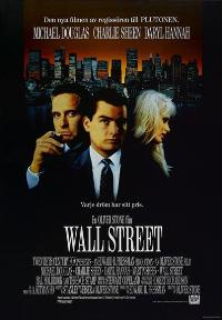 Wall Street - 27 x 40 Movie Poster - Swedish Style A