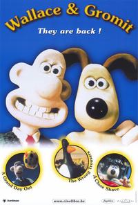 Wallace & Gromit: The Best of Aardman Animation - 27 x 40 Movie Poster - Style B