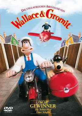 Wallace & Gromit: The Best of Aardman Animation - 27 x 40 Movie Poster - German Style A