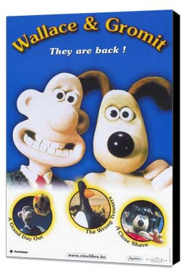 Wallace & Gromit: The Best of Aardman Animation - 11 x 17 Movie Poster - Style B - Museum Wrapped Canvas