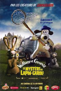 Wallace & Gromit: The Curse of the Were-Rabbit - 27 x 40 Movie Poster - French Style A