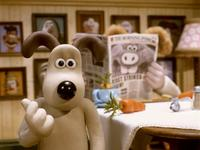 Wallace & Gromit: The Curse of the Were-Rabbit - 8 x 10 Color Photo #13