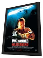 Wallander - 27 x 40 Movie Poster - Norwegian Style A - in Deluxe Wood Frame