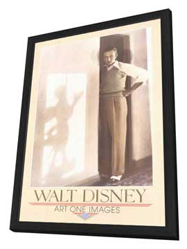 Walt Disney - Gallery Print - 11 x 17 Movie Poster - Style A - in Deluxe Wood Frame