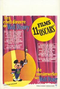 Walt Disney Festival - 27 x 40 Movie Poster - Belgian Style A