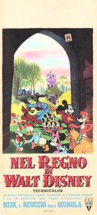 Walt Disney Film Festival - 11 x 17 Movie Poster - Italian Style A