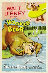 Walt Disney Hooked Bear - 27 x 40 Movie Poster - Style A