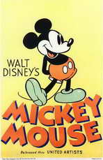Walt Disney's Mickey Mouse - 11 x 17 Movie Poster - Style A