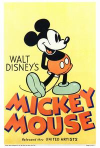 Walt Disney's Mickey Mouse - 27 x 40 Movie Poster - Style A