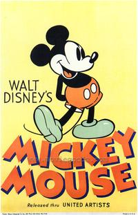 Walt Disney's Mickey Mouse - 43 x 62 Movie Poster - Bus Shelter Style A