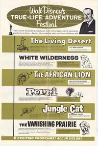 Walt Disney's True Life Adventure Festival - 27 x 40 Movie Poster - Style A