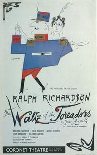 Waltz Of The Toreadors, The (Broadway) - 14 x 22 Poster - Style A