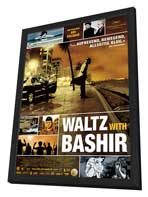 Waltz With Bashir - 27 x 40 Movie Poster - German Style A - in Deluxe Wood Frame
