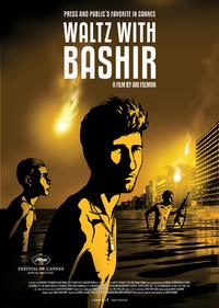 Waltz With Bashir - 43 x 62 Movie Poster - Belgian Style A