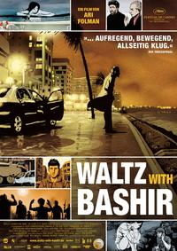 Waltz With Bashir - 11 x 17 Movie Poster - German Style A