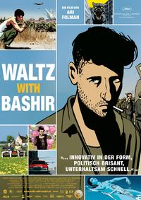 Waltz With Bashir - 27 x 40 Movie Poster - German Style B