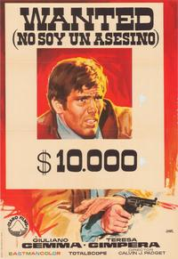 Wanted - 11 x 17 Movie Poster - Spanish Style A