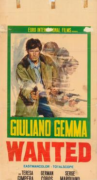 Wanted - 11 x 17 Movie Poster - Italian Style A