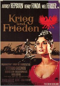 War and Peace - 11 x 17 Movie Poster - German Style A
