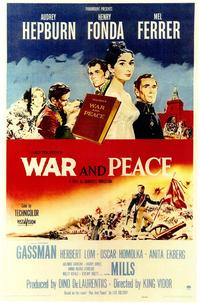 War and Peace - 43 x 62 Movie Poster - Bus Shelter Style A