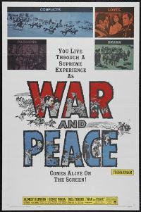War and Peace - 11 x 17 Movie Poster - Style C