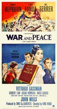 War and Peace - 11 x 17 Movie Poster - Style D