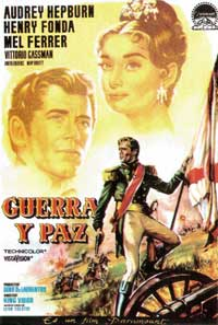 War and Peace - 11 x 17 Movie Poster - Spanish Style A
