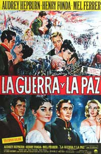War and Peace - 11 x 17 Movie Poster - Spanish Style B