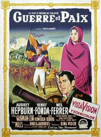 War and Peace - 27 x 40 Movie Poster - French Style A