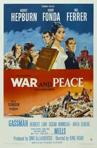 War and Peace - 27 x 40 Movie Poster - Style E