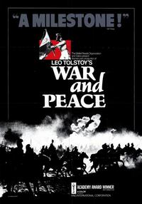 War and Peace - 11 x 17 Movie Poster - Style A