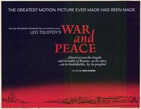 War and Peace - 11 x 14 Movie Poster - Style A